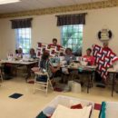 Quilts for VA Hospital